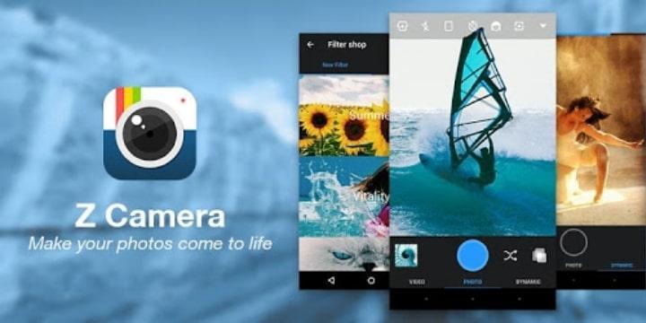 Z Camera Pro Apk v4.56 (VIP Unlocked)