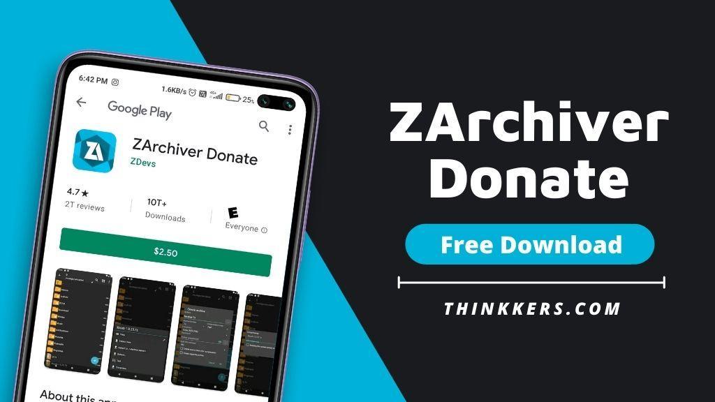 ZArchiver Donate Mod Apk - Copy