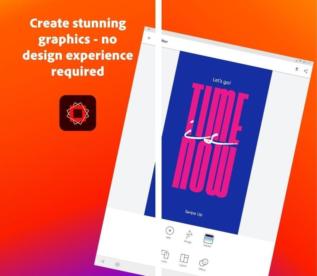 Adobe Spark Post - Screen