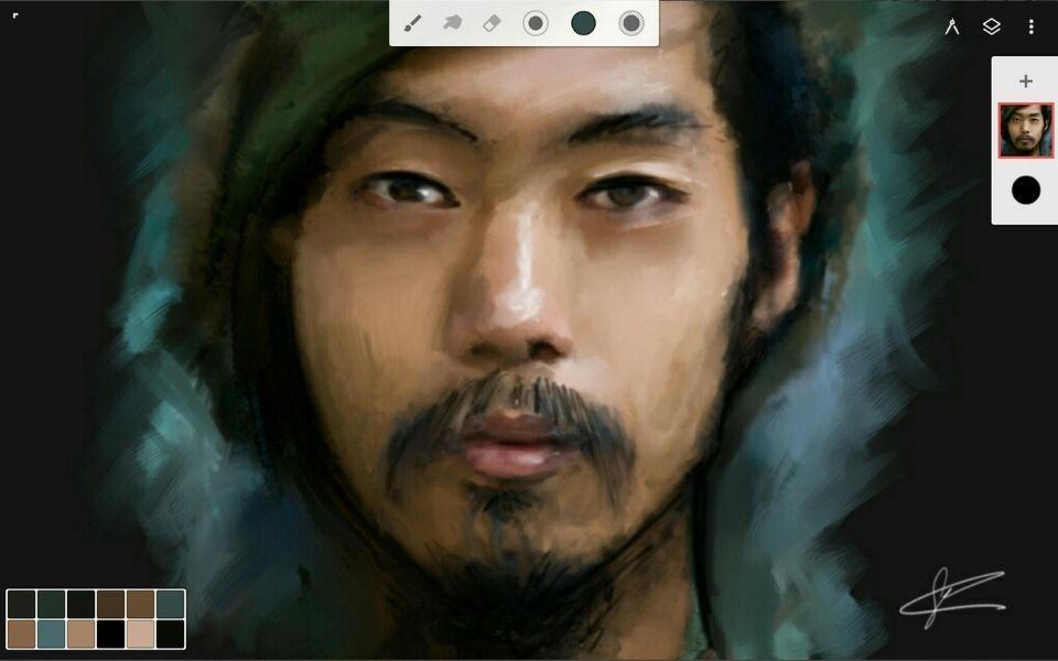 Infinite Painter Screen 1