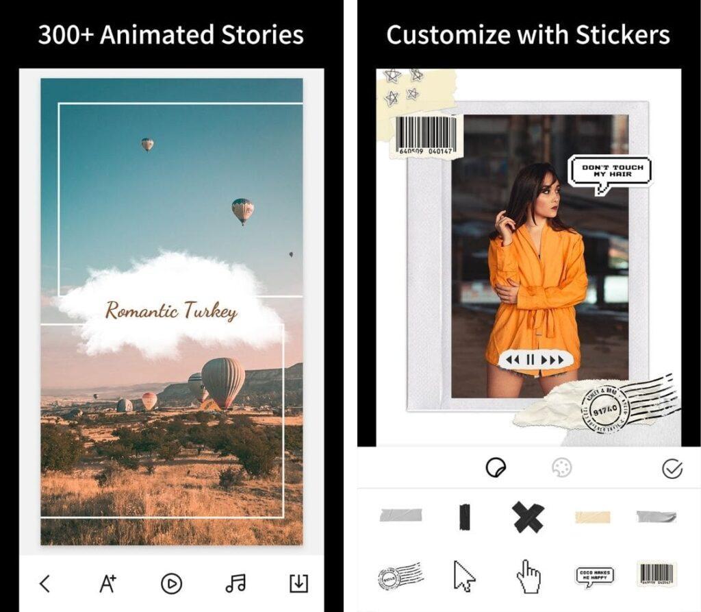 StoryArt Screen 1