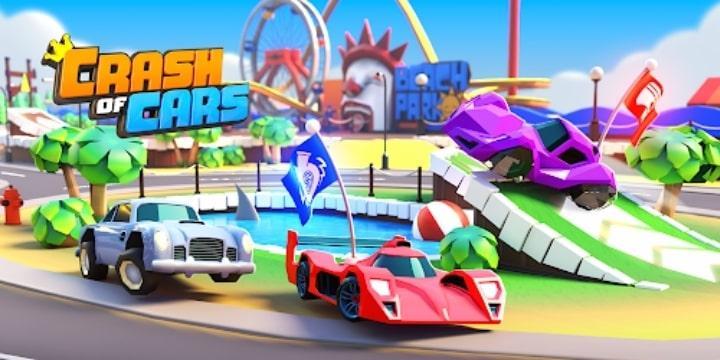 Crash Of Cars Mod Apk v1.5.12 (Unlimited Money)