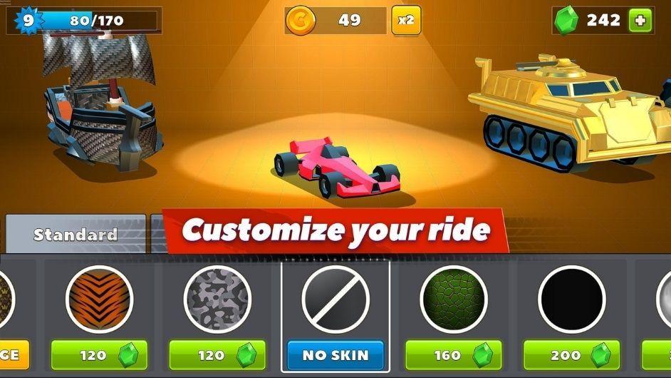 Crash of Cars ride