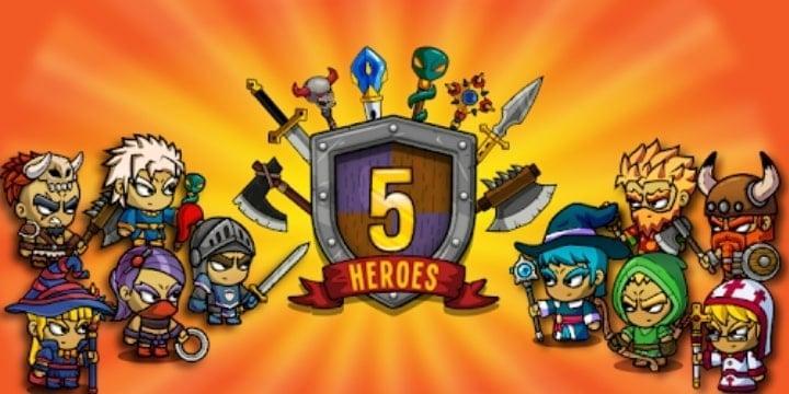 Five Heroes: The King's War Mod Apk v3.5.2 (Unlimited Money)