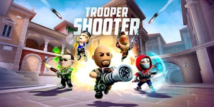 Trooper Shooter Mod Apk v2.8.1 (Free Rewards)
