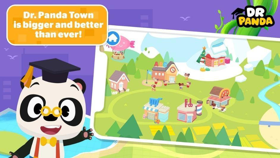 Dr. Panda Town mod download
