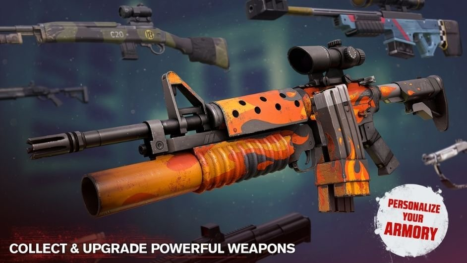 Into the Dead 2 weapons