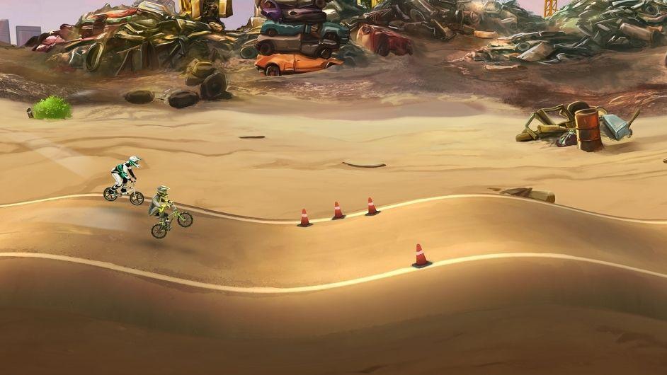 Mad Skills BMX 2 graphics