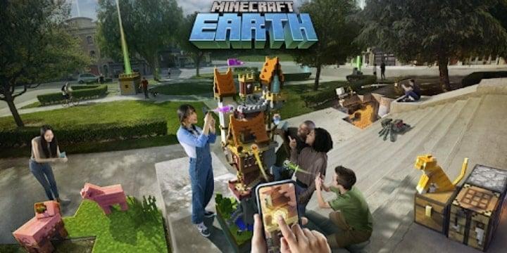 Minecraft Earth Mod Apk v0.33.0 (License Patched)