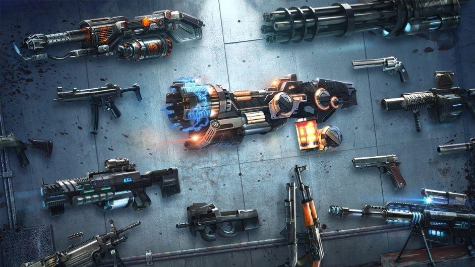 DEAD TARGET weapons unlocked