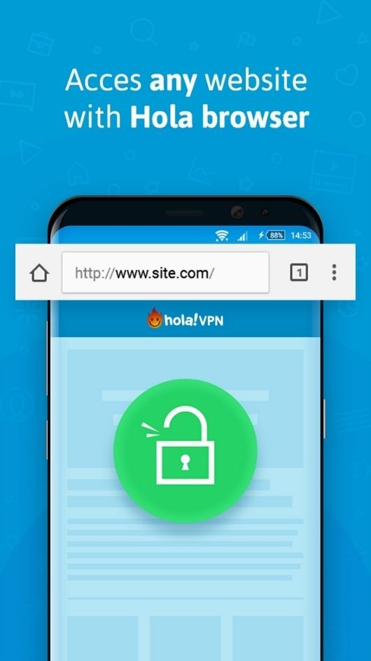 Hola VPN premium unlocked