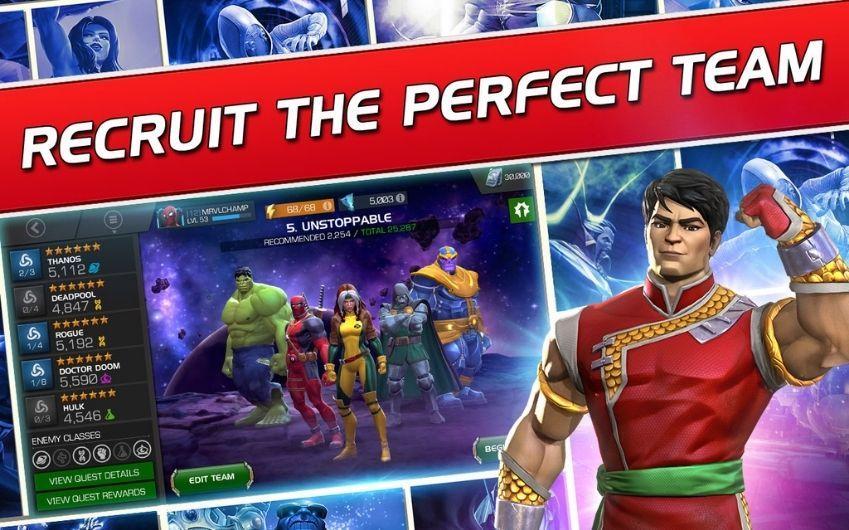Marvel Contest of Champions mod unlocked