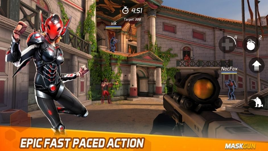 MaskGun FPS Multiplayer mod apk