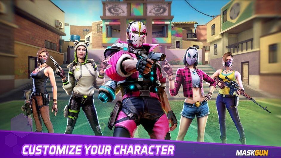 MaskGun character unlocked