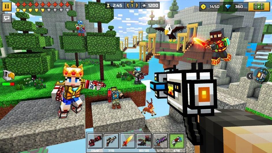 Pixel Gun 3D all guns unlocked