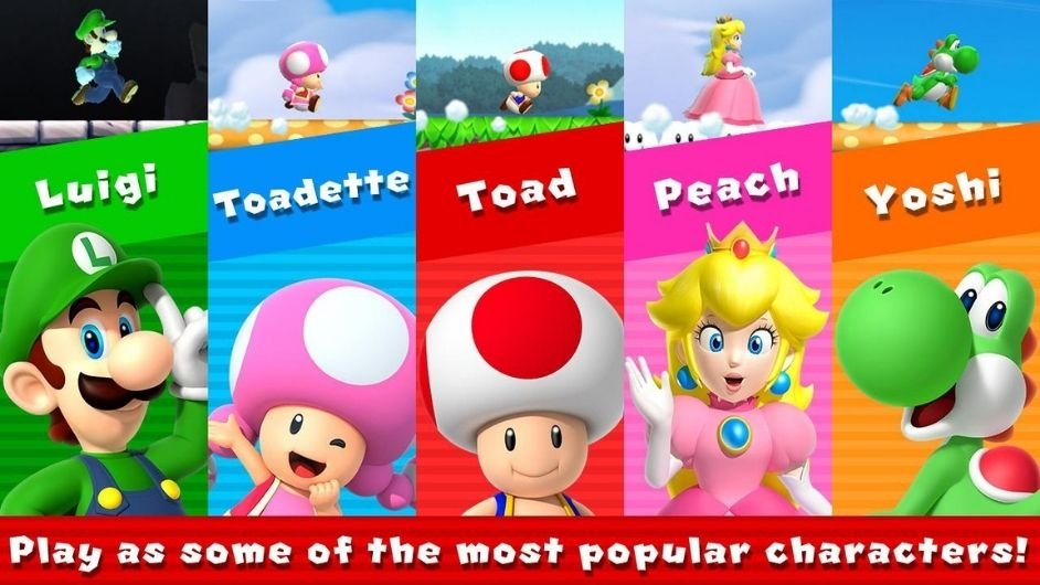 Super Mario Run mod download