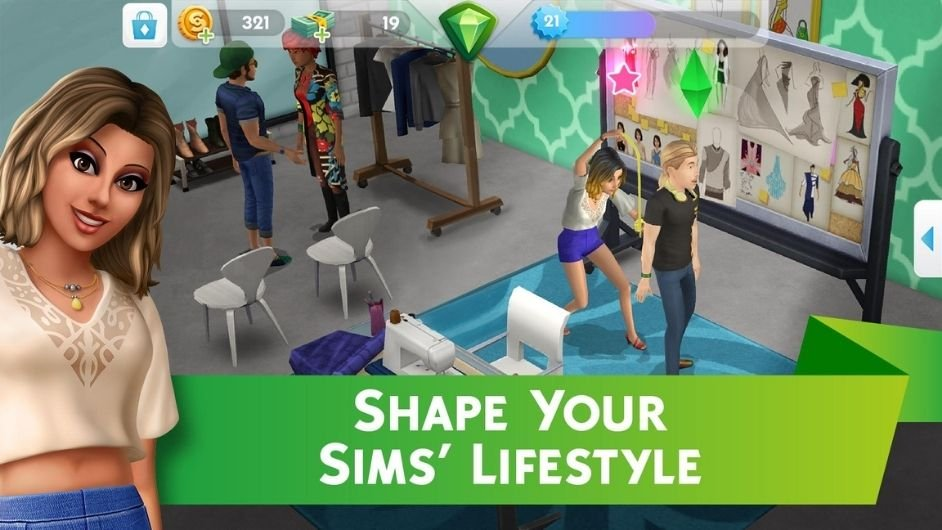 The Sims Mobile Mod download