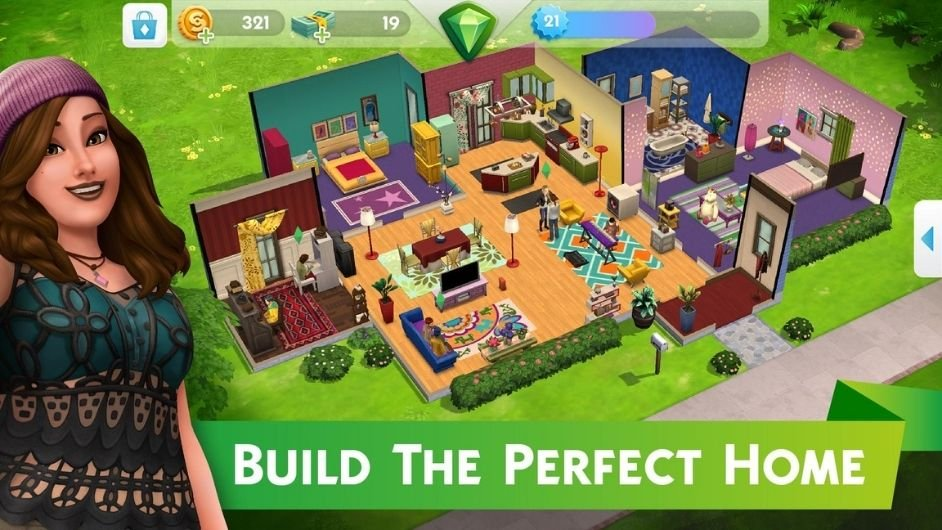 The Sims Mobile perfect home